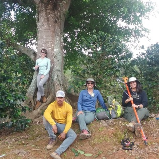 My four technicians: Isamarie, Rafael, Nahira, Jamarys